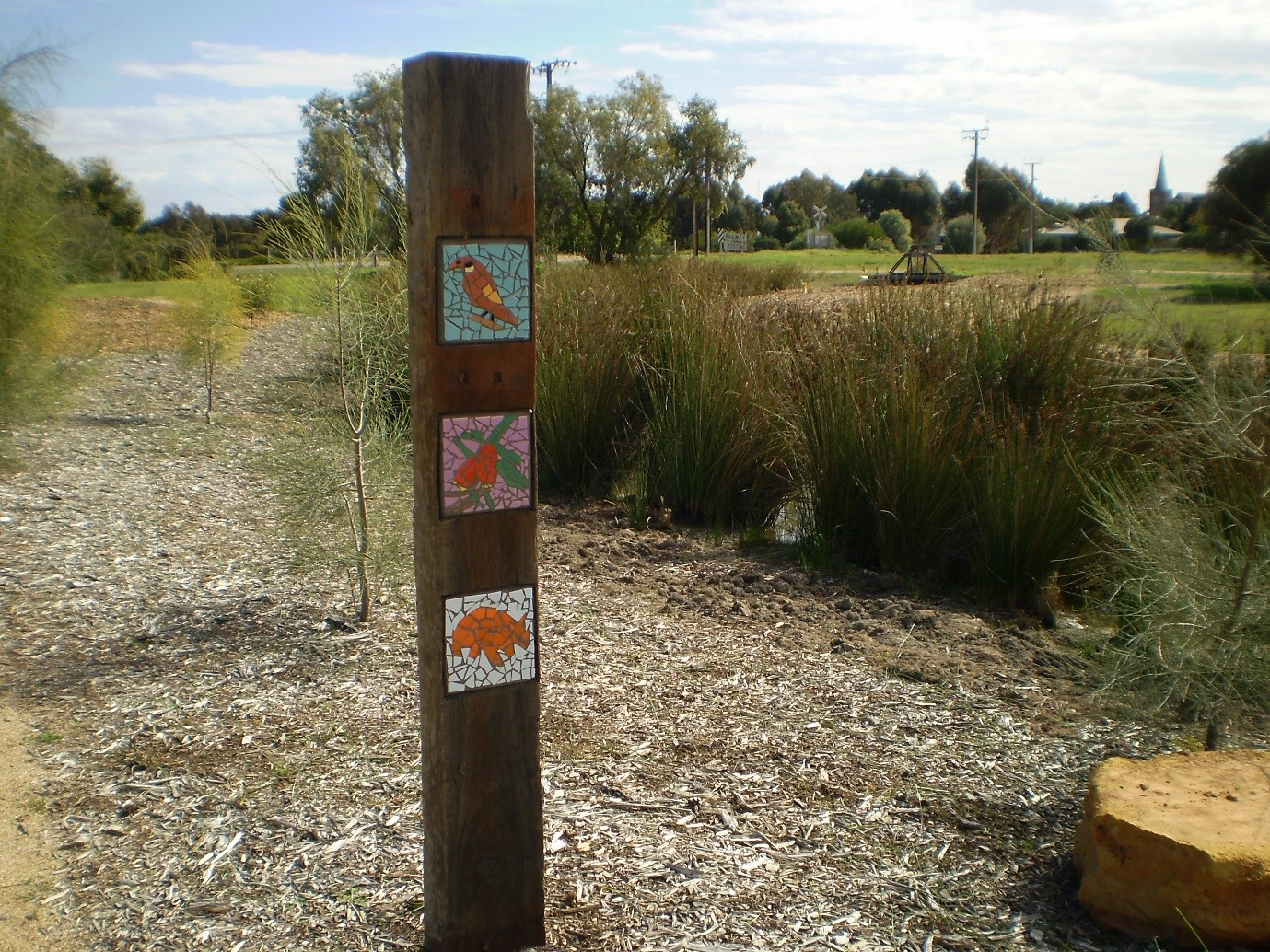 Wetlands Mosaic Posts