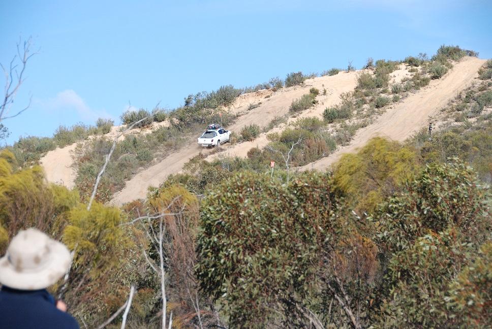 4WD uphill