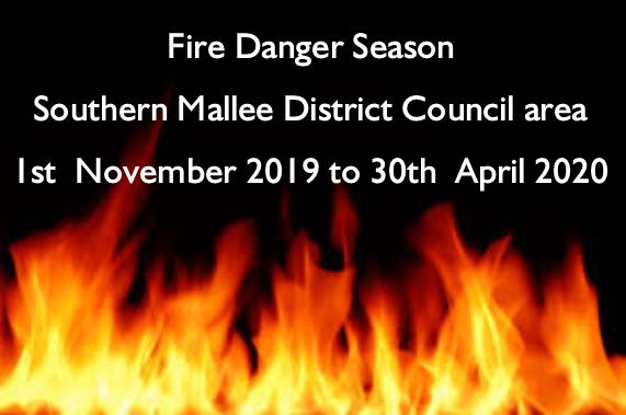 Fire Danger Season 2019-2020